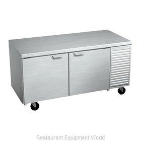 Larosa 2067-ST Refrigerated Counter, Work Top