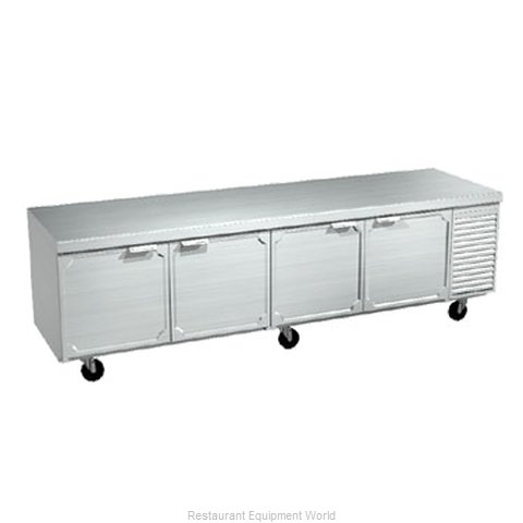 Larosa 2510-ST Refrigerated Counter, Work Top