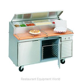 Larosa 2562-PTB Refrigerated Counter, Pizza Prep Table