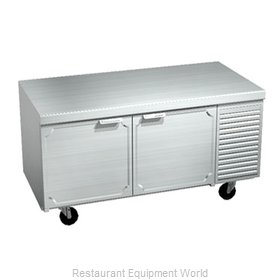 Larosa 2562-ST Refrigerated Counter, Work Top