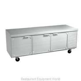 Larosa 2586-ST Refrigerated Counter, Work Top