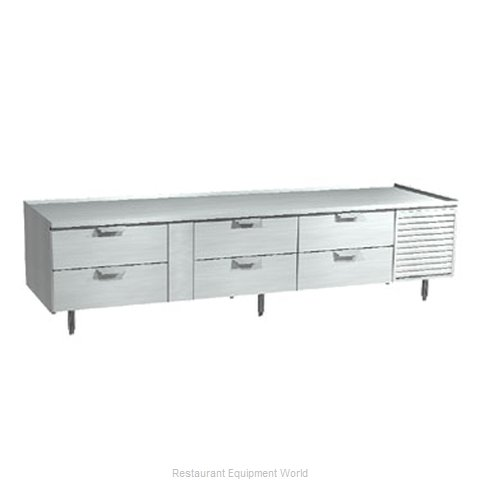 Larosa 3002-SR Equipment Stand, Refrigerated Base