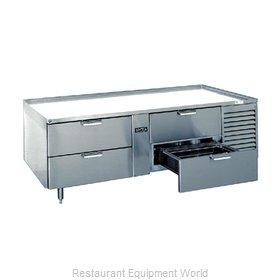 Larosa 3076-SR Equipment Stand, Refrigerated Base