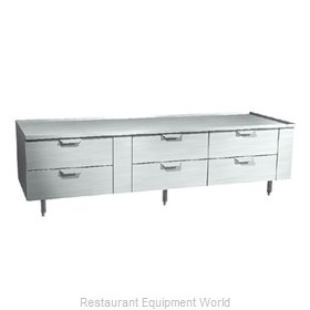 Larosa 3190-RR Equipment Stand, Refrigerated Base