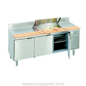 Larosa L-12168-32 Refrigerated Counter, Sandwich / Salad Top