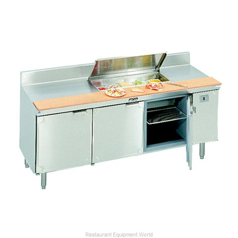 Larosa L-13184-28 Refrigerated Counter, Sandwich / Salad Top