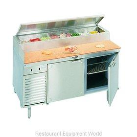 Larosa L-14104-32 Refrigerated Counter, Pizza Prep Table