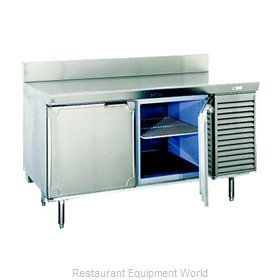 Larosa L-20162-23-28 Freezer Counter, Work Top