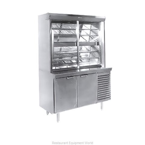 Larosa L-30162-28 Display Case, Refrigerated