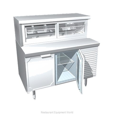 Larosa L-34174-23-28 Display Pie Case Refrigerated (Magnified)