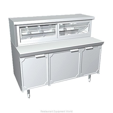 Larosa L-35172-23-28 Display Pie Case Refrigerated