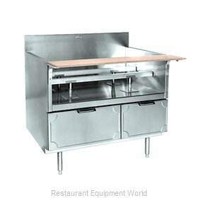 Larosa L-71190-30 Equipment Stand, for Countertop Cooking