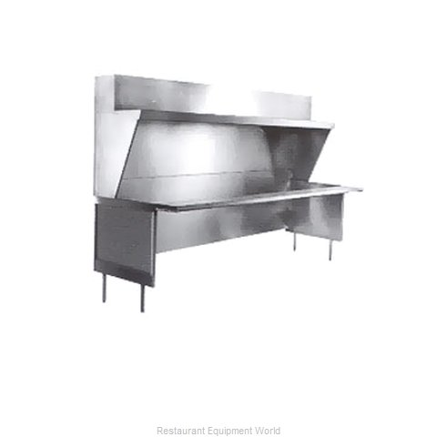 Larosa L-72190-30 Equipment Stand for Countertop Cooking