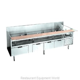 Larosa L-74102-26 Equipment Stand, Refrigerated Base