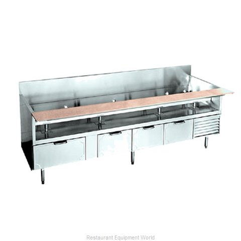 Larosa L-74102-30 Refrigerated Counter Griddle Stand