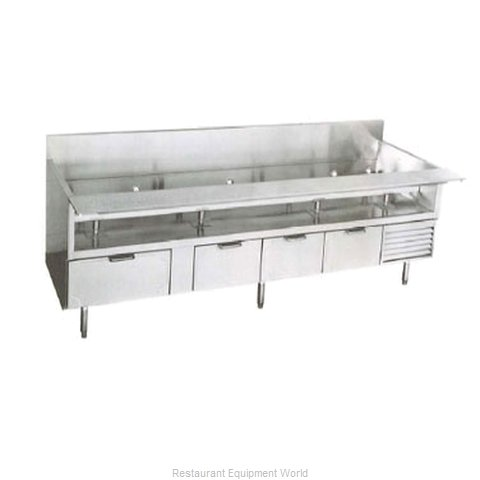 Larosa L-74114-30 Refrigerated Counter Griddle Stand