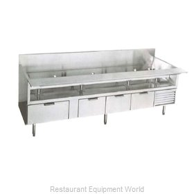 Larosa L-74166-30 Equipment Stand, Refrigerated Base