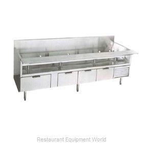 Larosa L-74190-30 Equipment Stand, Refrigerated Base