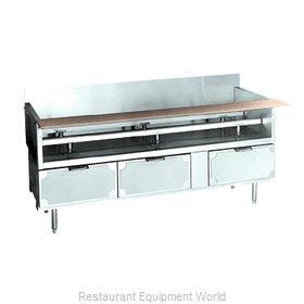 Larosa L-75166-30 Equipment Stand, Refrigerated Base