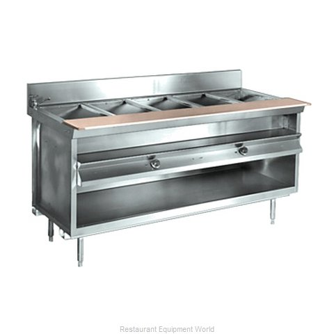 Larosa L-81148-28 Serving Counter Hot Food Steam Table Electric