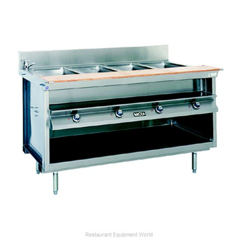 Larosa L-82148-28 Serving Counter Hot Food Steam Table Electric