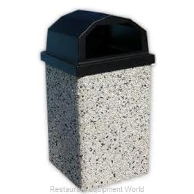 Lexington Precast 30RL-BLACK Receptacle Lid