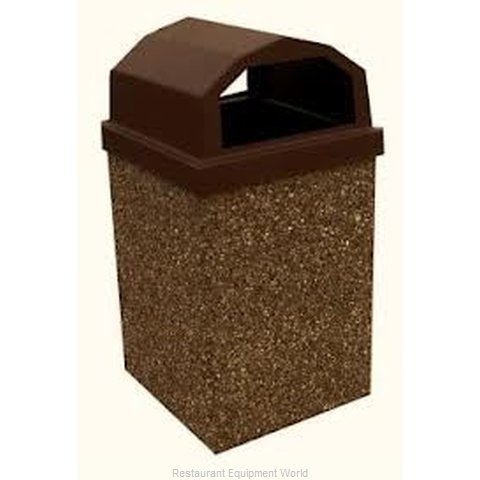 Lexington Precast 30RL-BROWN Receptacle Lid