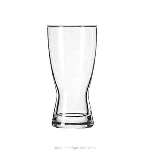 Libbey 1178HT Pilsner Glass (Magnified)