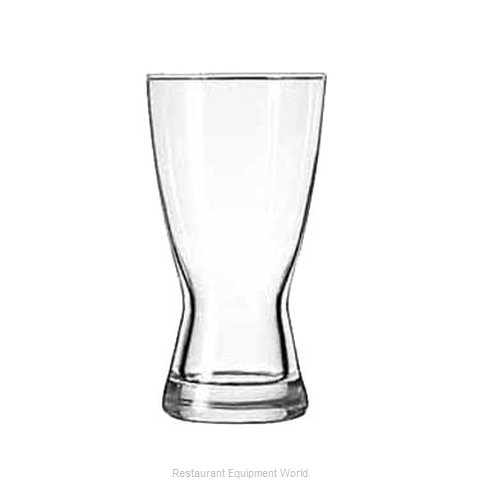 Libbey 1181HT Pilsner Glass (Magnified)