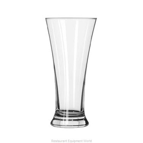 Libbey 1242HT Pilsner Glass (Magnified)