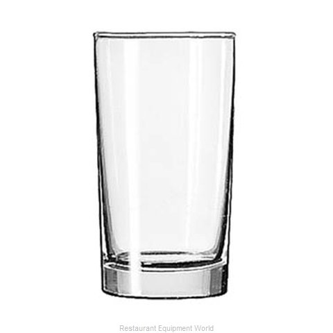 Libbey 125 Glass, Hi Ball (Magnified)