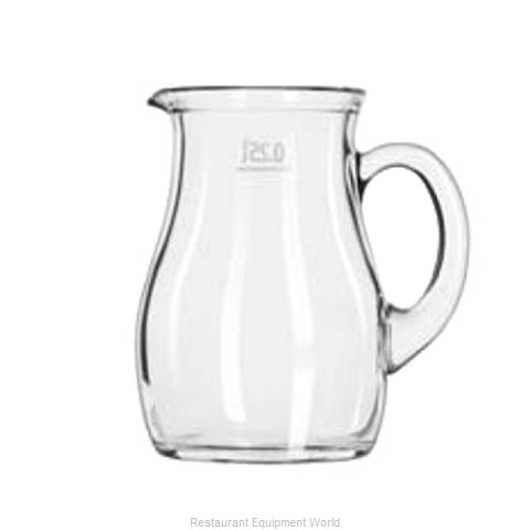 Libbey 13129021 Pitcher Glass (Magnified)