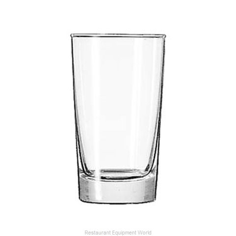 Libbey 132 Hi Ball Glass (Magnified)
