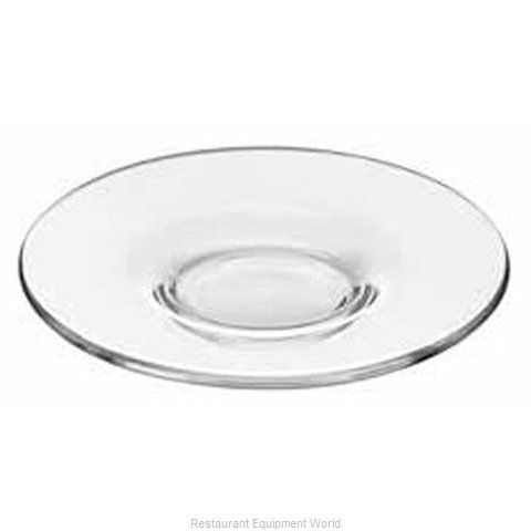 Libbey 13246422 Saucer Glass (Magnified)