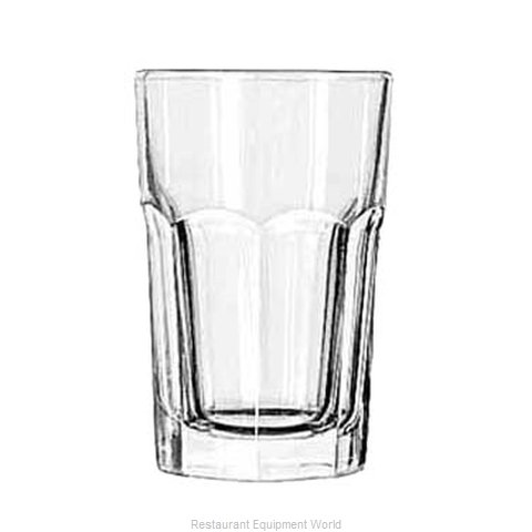 Libbey 15237 Hi Ball Glass (Magnified)