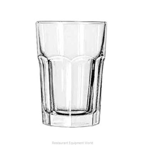 Libbey 15238 Hi Ball Glass (Magnified)