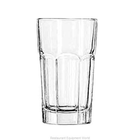 Libbey 15239 Hi Ball Glass (Magnified)