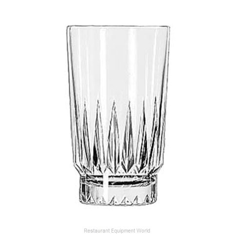 Libbey 15451 Glass, Hi Ball (Magnified)