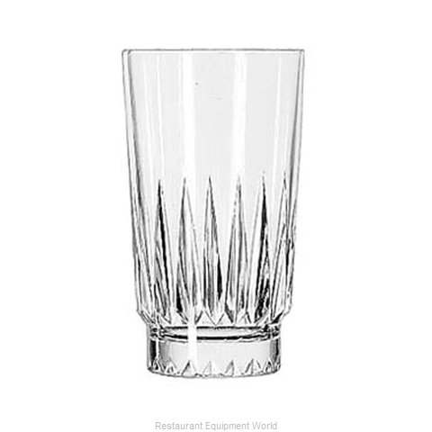 Libbey 15456 Glass, Hi Ball (Magnified)