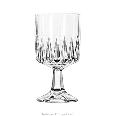 Libbey 15463 Wine Glass (Magnified)