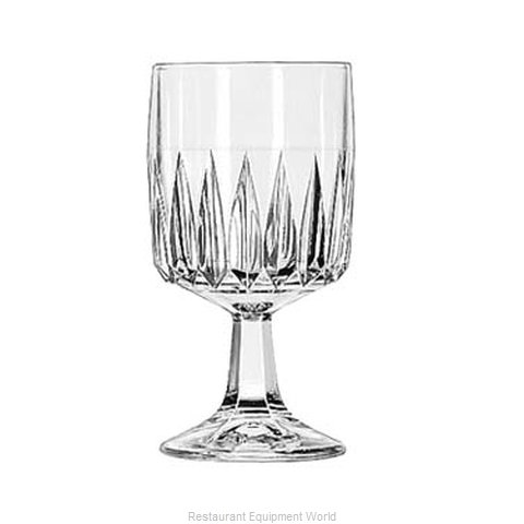 Libbey 15464 Wine Glass (Magnified)
