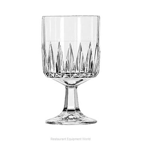 Libbey 15465 Glass, Goblet (Magnified)