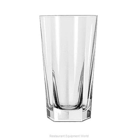 Libbey 15485 Hi Ball Glass (Magnified)