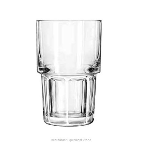 Libbey 15656 Hi Ball Glass (Magnified)