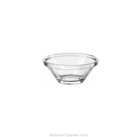 Libbey 15850 Sauce Dish Glass (Magnified)