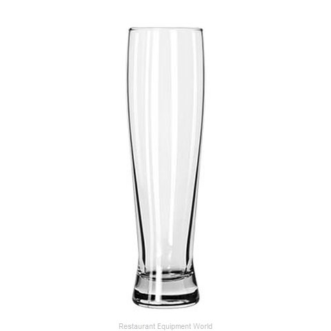 Libbey 1690 Pilsner Beer Glass (Magnified)