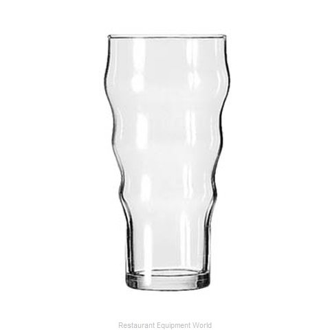 Libbey 1713HT Soda Glass (Magnified)