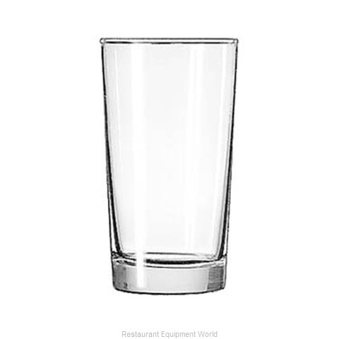 Libbey 172 Hi Ball Glass (Magnified)