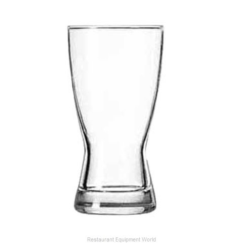 Libbey 176 Pilsner Glass (Magnified)