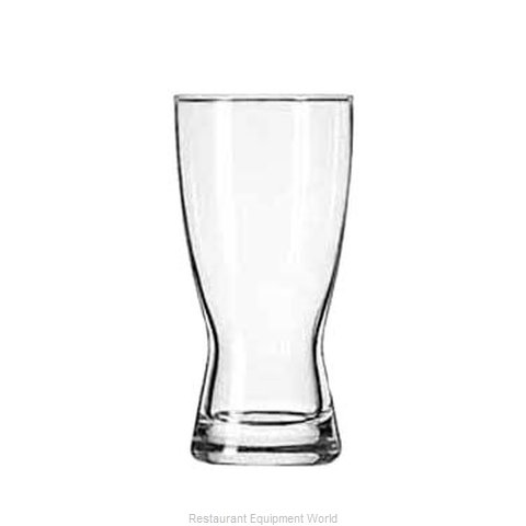 Libbey 178 Pilsner Glass (Magnified)